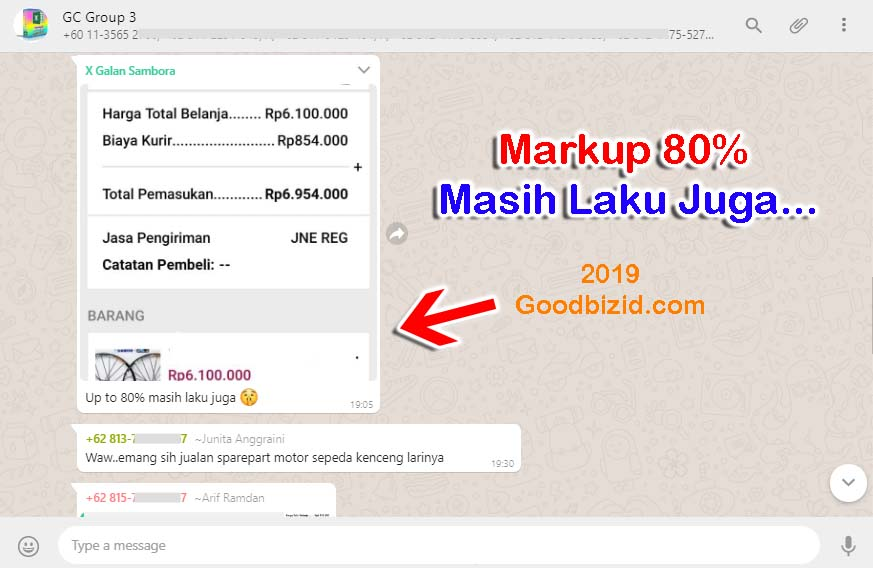testimoni gc Up 80% laku juga from gc3